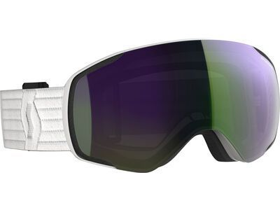 Scott Vapor, white/Lens: enhancer green chrome - Skibrille