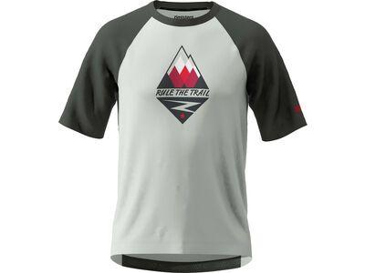 Zimtstern PureFlowz Shirt SS Men glacier grey/gun metal/cyber red