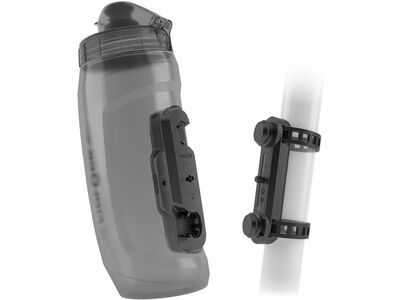 Fidlock Twist Bottle 590 + Uni Base transparent black