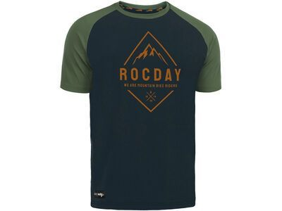 Rocday Peak Jersey navy/green