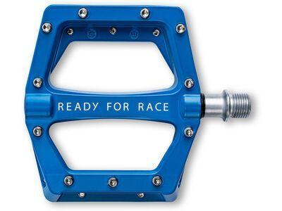 Cube RFR Pedale Flat Race, blue
