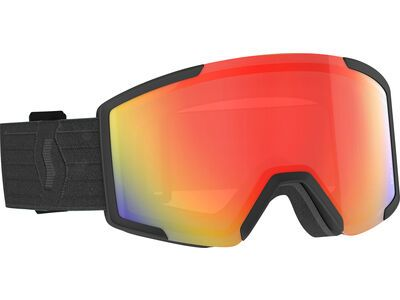 Scott Shield - Light Sensitive Red Chrome black