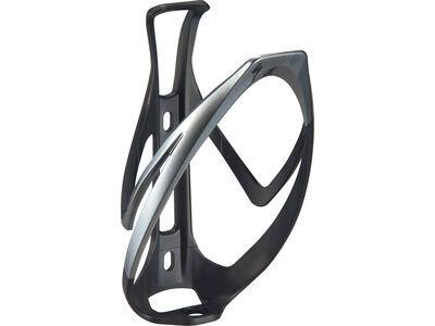 Specialized Rib Cage II, matte black/liquid silver - Flaschenhalter
