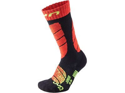 UYN Ski Socks Junior black/red