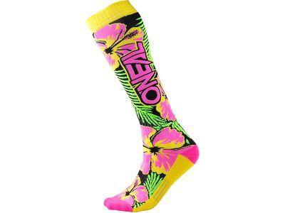 ONeal Pro MX Socks Island neon