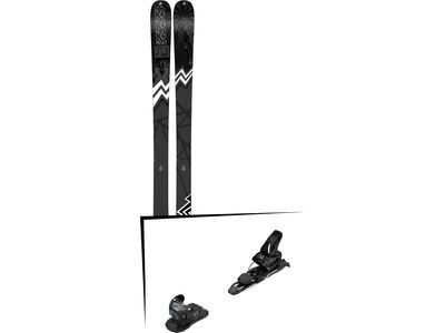 Set: K2 SKI Press 2019 + Salomon Warden MNC 11 black