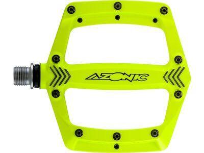 Azonic Americana Pedal neon yellow