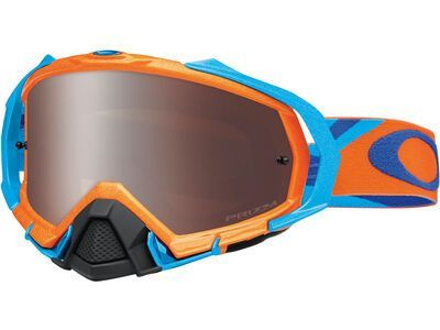 Oakley Mayhem Pro Prizm MX Black heritage racer orange