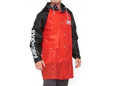 100% Torrent Mechanic's Raincoat red/black