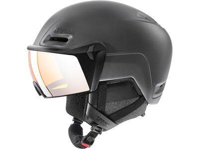 uvex hlmt 700 visor, black mat - Skihelm