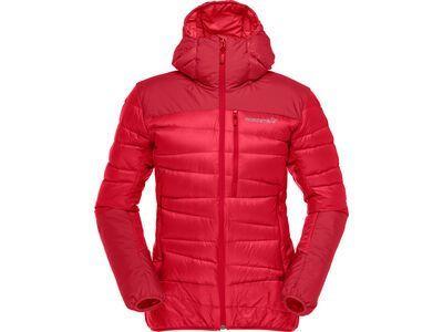 Norrona falketind down750 Hood W's true red