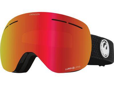 Dragon X1s - Lumalens Red Ionized, split/Lens: lumalens red ion