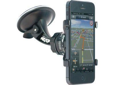 NC-17 iPhone Auto-Halter - Montage an Autoscheibe black