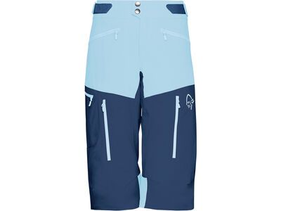 Norrona fjørå flex1 Shorts (W), trick blue/indigo night - Radhose