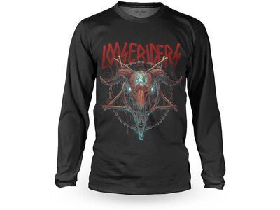Loose Riders Cult of Shred Jersey LS Goathhead black