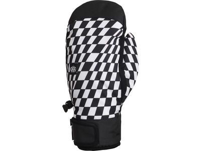 686 Mountain Mitt, checkers - Snowboardhandschuhe