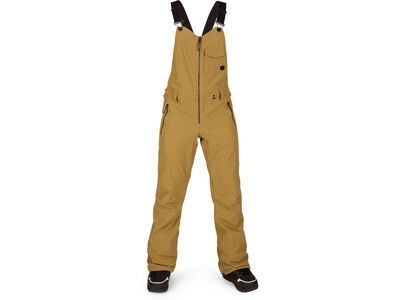 Volcom Swift Bib Overall, burnt khaki - Snowboardhose