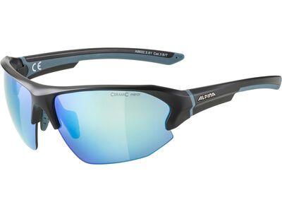Alpina Lyron HR Mirror Blue black matt - blue