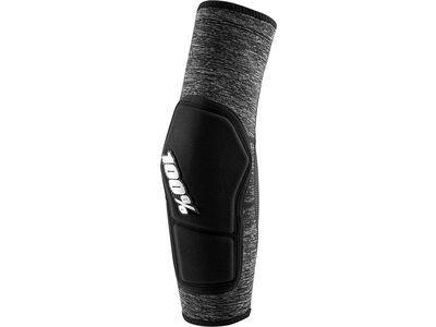 100% Ridecamp Elbow Pad, grey heather / black