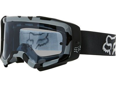 Fox Airspace Stray Goggle inkl. WS, black/Lens: dark gray lex - MX Brille