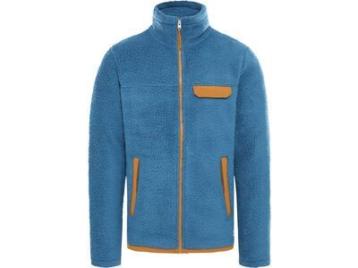The North Face Men's Cragmont Fleece Full-Zip Jacket, mallard blue/timber tan - Fleecejacke