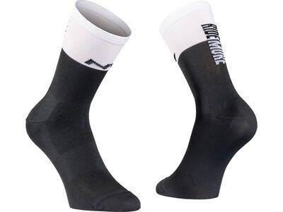 Northwave Work Less Ride More  Sock black/white