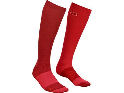 Ortovox Merino Tour Compression Socks W dark blood