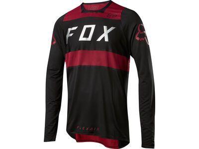 *** 2. Wahl *** Fox Flexair LS Jersey, red/black - Radtrikot | Größe S