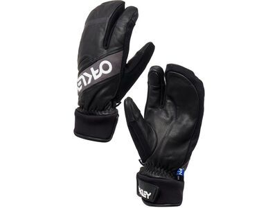 Oakley Factory Winter Trigger Mitt 2, blackout - Skihandschuhe