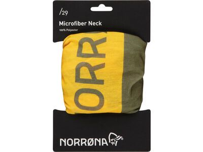 Norrona /29 microfiber Neck, olive drab - Multifunktionstuch