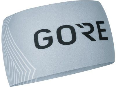 Gore Wear M Opti Stirnband, light grey/white