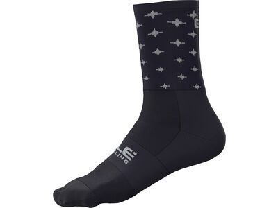 Ale Stars Socks blue-white