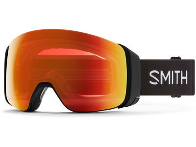 Smith 4D Mag - ChromaPop Everyday Red Mir, black/Lens: cp everyday red mir