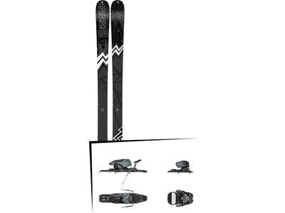 Set: K2 SKI Press 2019 + Salomon Warden 11 dark grey/black