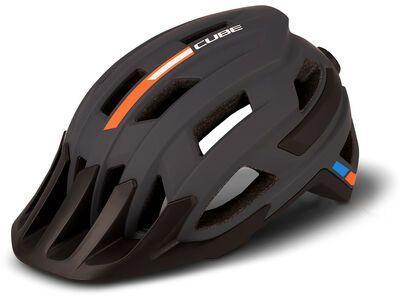 Cube Helm Rook X Actionteam, grey´n´orange - Fahrradhelm