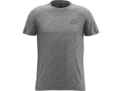 Scott 10 Casual S/Sl Tee heather grey