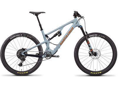 Santa Cruz 5010 C R 2020, robins egg/orange - Mountainbike