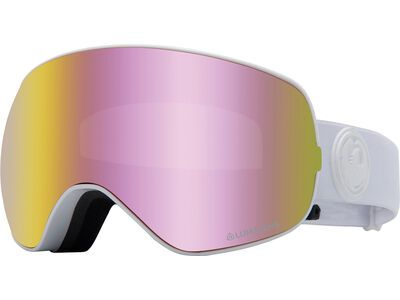 Dragon X2s inkl. WS, whiteout/Lens: lumalens pink ion - Skibrille