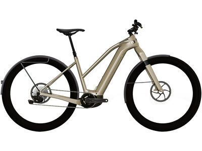 Cannondale Canvas Neo Remixte 2 2021, champagne - E-Bike