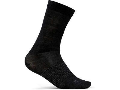 Craft Core Wool Liner Sock - 2er Pack, black