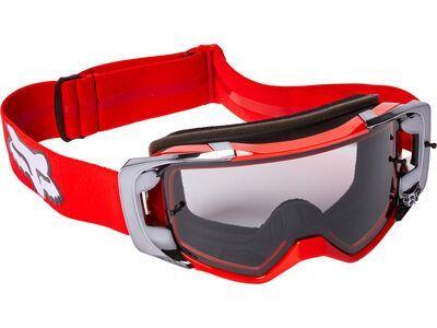 Fox Vue Stray Goggle - Dark Grey fluorescent red