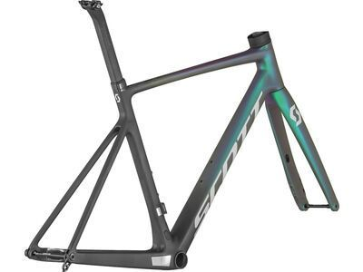 Scott Addict RC Pro Frameset black/prism green purple/reflective grey 2021