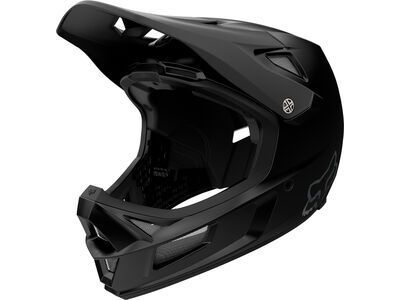 Fox Rampage Comp Helmet, matte black - Fahrradhelm