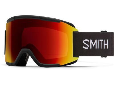 Smith Squad - ChromaPop Sun Red Mir, black/Lens: cp sun red mir