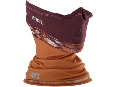 Anon Men's MFI Lightweight Neck Warmer, maroon - Nackenwärmer