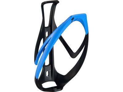 Specialized Rib Cage II, matte black/sky blue - Flaschenhalter