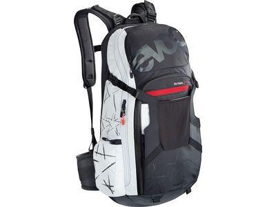 Evoc FR Trail Unlimited 20l, black/white - Fahrradrucksack