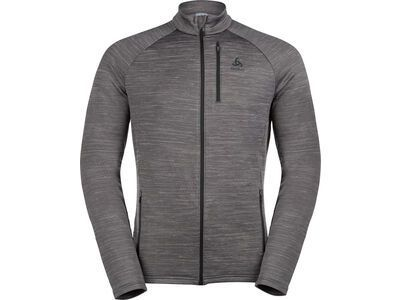 Odlo Midlayer Full Zip Fleece Mythen, graphite grey - Fleecejacke