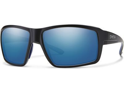 Smith Fireside Blue Mirror matte black