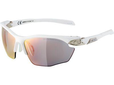 Alpina Twist Five HR QV Varioflex Mirror Rainbow white matt-silver